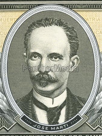 jose marti portrait from cuban money