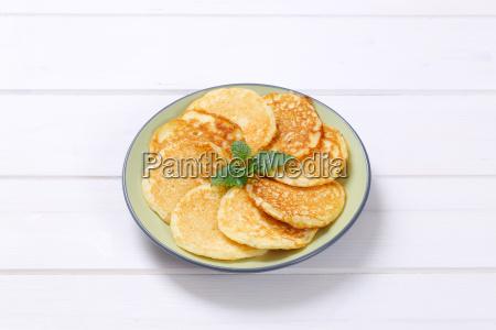 fresh american pancakes
