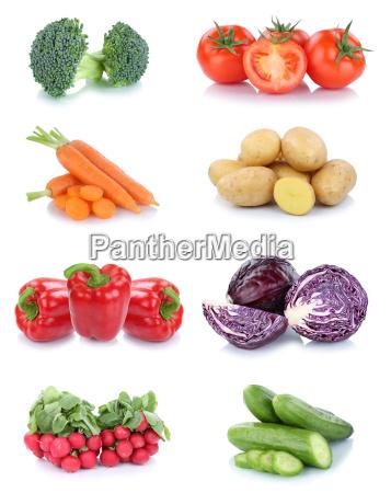 vegetables potatoes carrots tomatoes paprika cucumbers