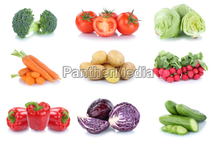vegetable potatoes carrots tomato peppers cucumber