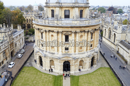 oxford uk october 26 2016 elevated