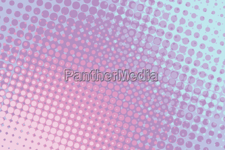 red blue abstract halftone comic pop
