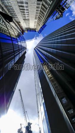 uk england london facades of three