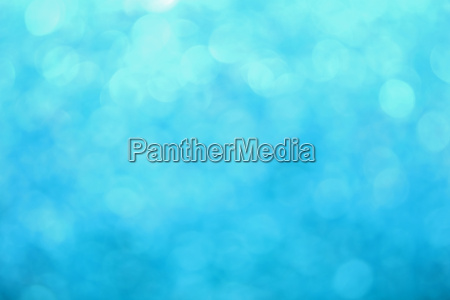 blue winter bokeh lights abstract background