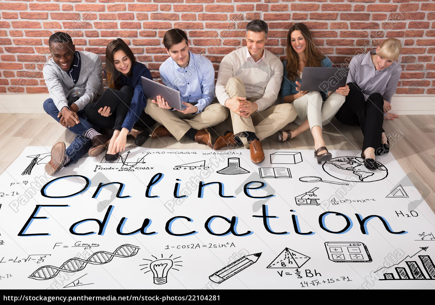 people, looking, at, online, education, plan - 22104281