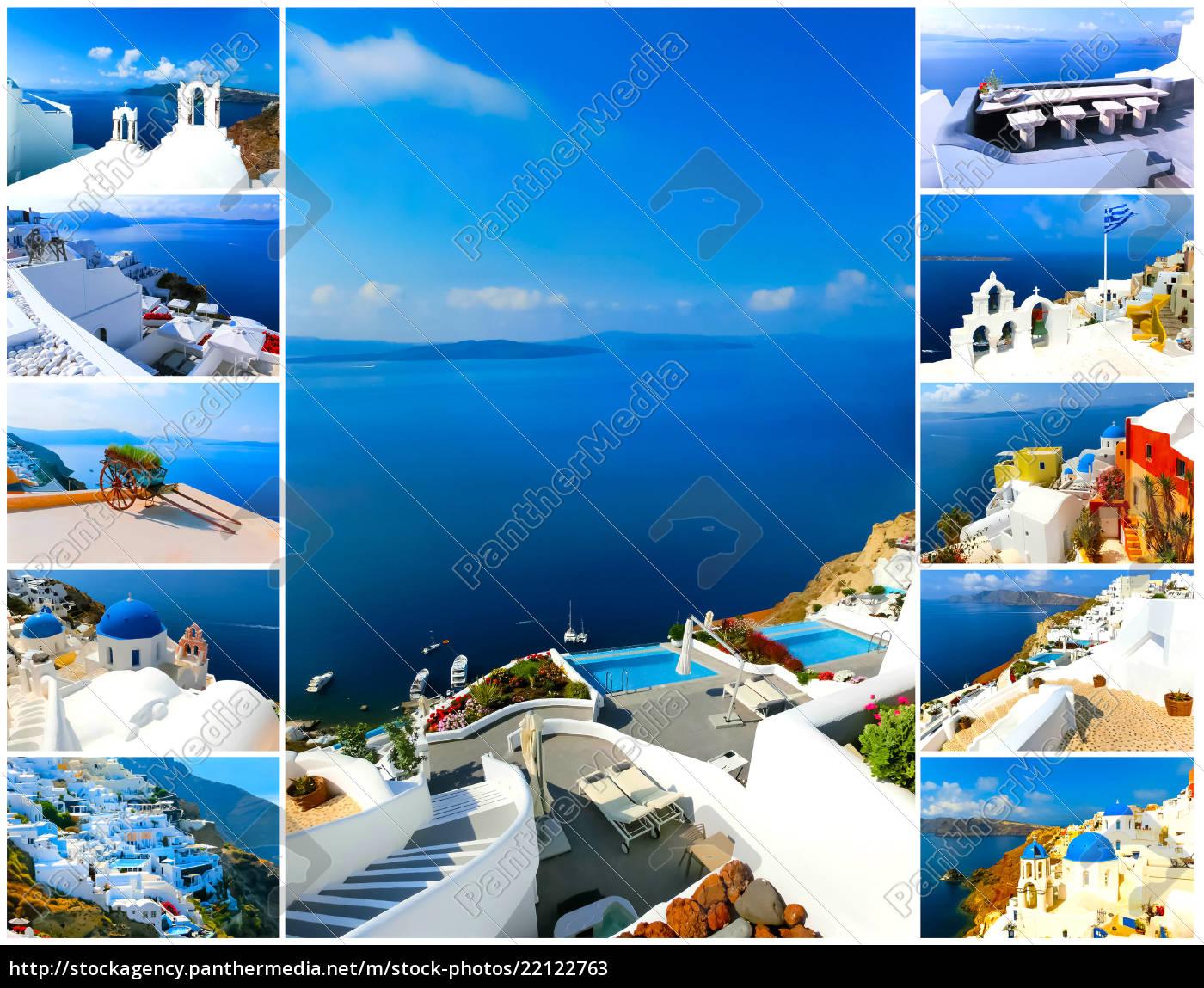 set, of, summer, photos, in, santorini, - 22122763
