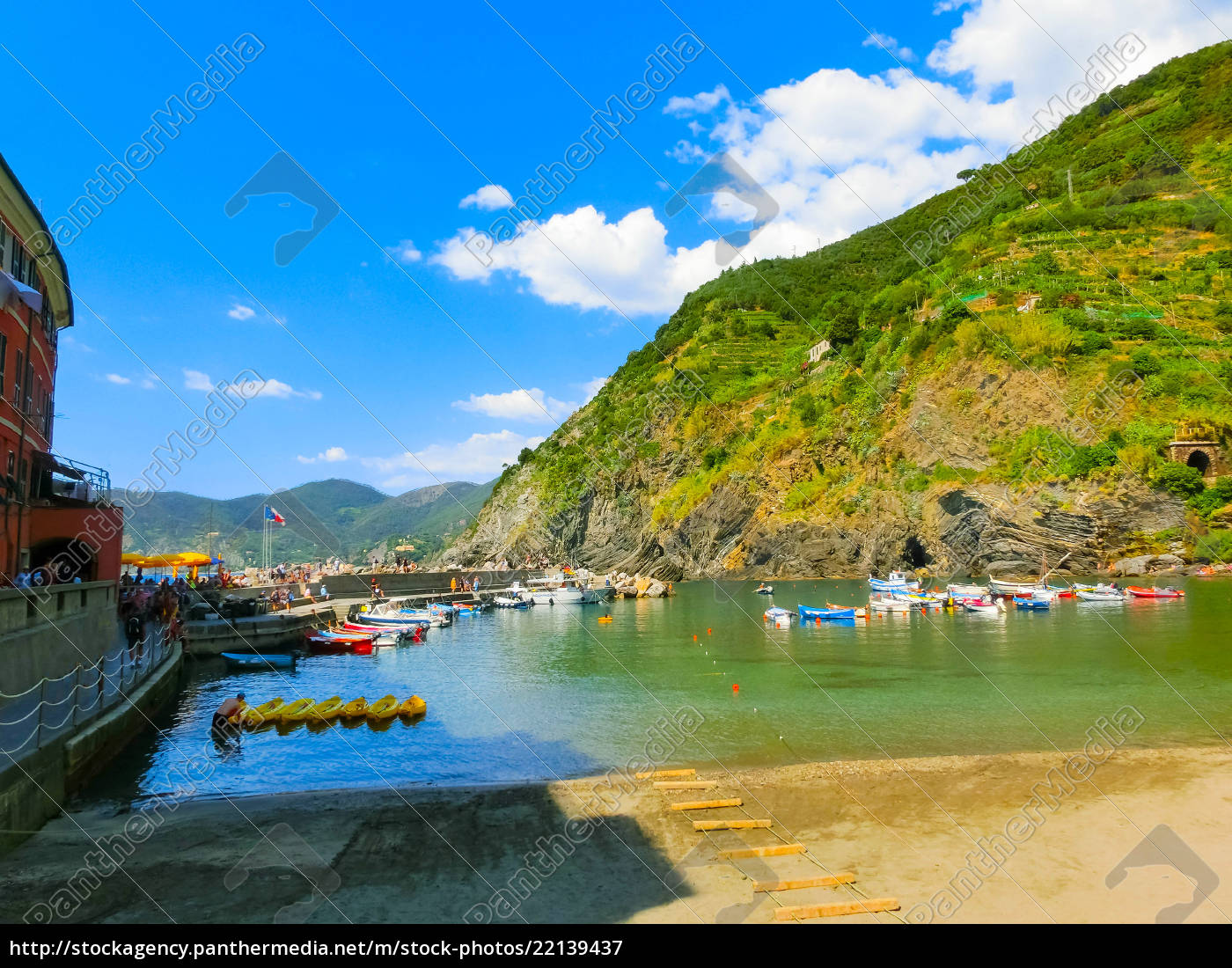 vernazza, , italy, -, september, 09, , 2015: - 22139437
