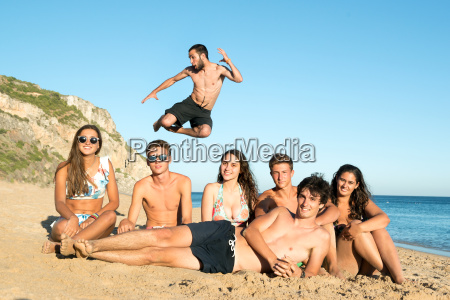 friends in summer time