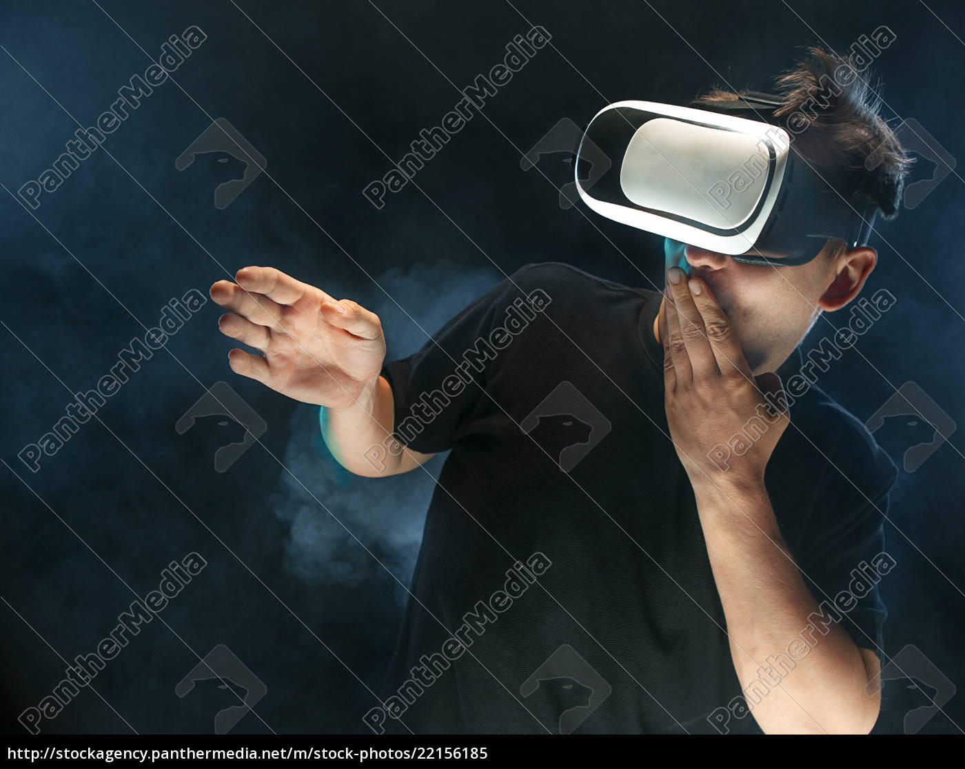the, man, with, glasses, of, virtual - 22156185