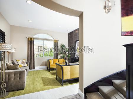 comfortable living room valencia california usa