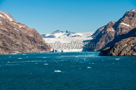 glacier on greenland