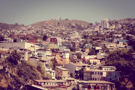 valparaiso cityscape chile