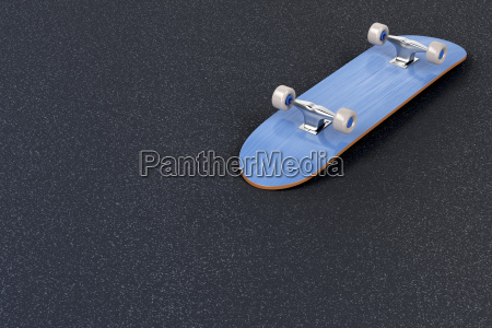 skateboard on asphalt