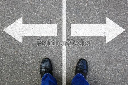 decide decision business concept goals success