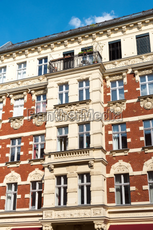 beautiful renovated old building in prenzlauer