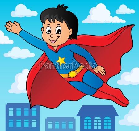 super hero boy theme image 2