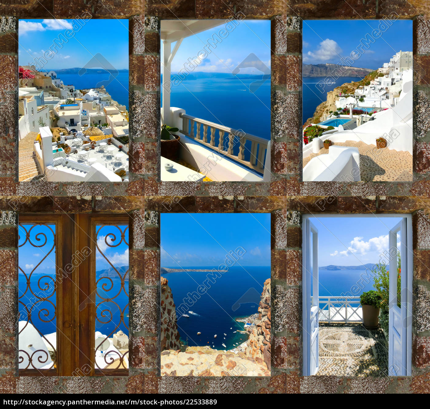 set, of, summer, photos, in, santorini, - 22533889