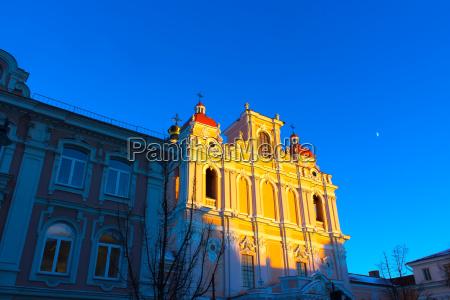 church of st casimir in vilnius