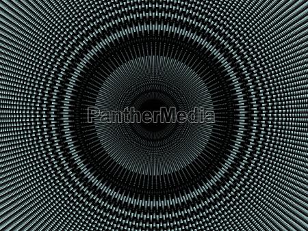 visualization of burst rotation