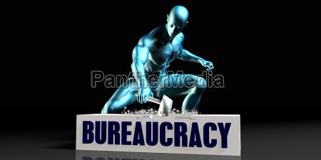 get rid of bureaucracy