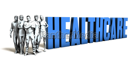 healthcare business concept