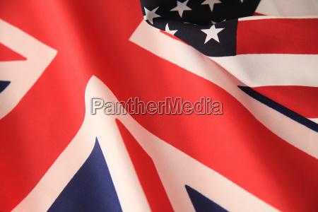 azul primer plano cruz america banderas