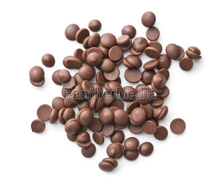 tasty chocolate morsels