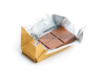 wrapped chocolate bar
