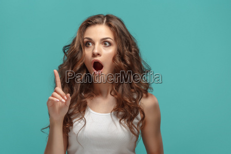 portrait, of, young, woman, with, shocked - 22643749