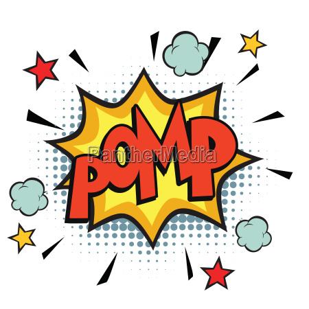 pomp comic word