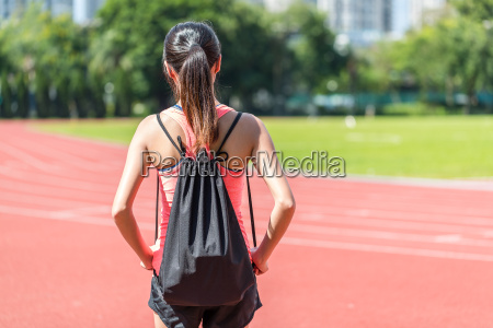 sport, woman, in, sport, stadium - 22648333