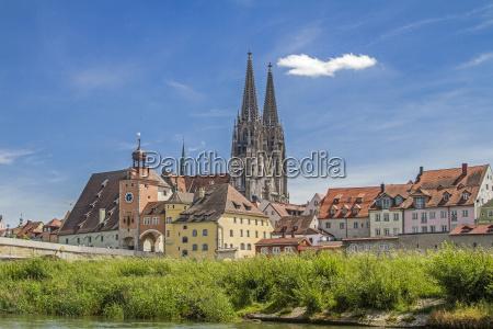 regensburg capital of the upper
