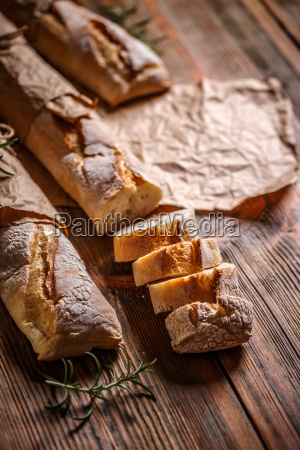 fresh french baguettes