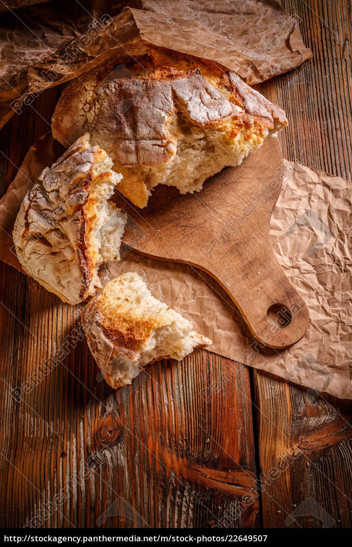 freshly, baked, bread - 22649507