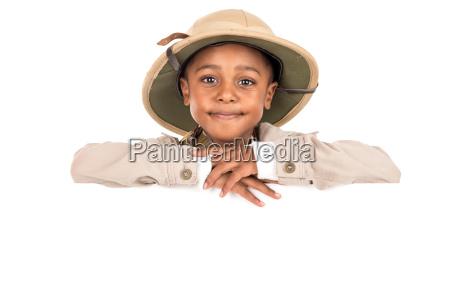 boy, in, safari, clothes - 22654535
