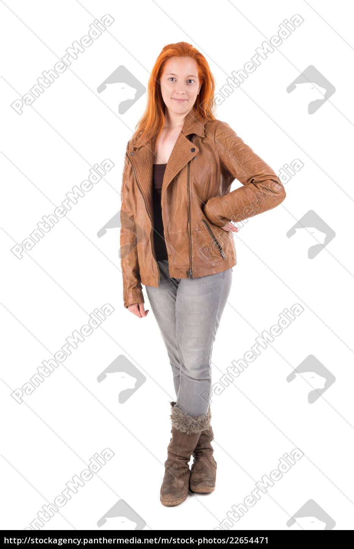 red, hair, girl - 22654471