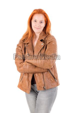 red, hair, girl - 22654475