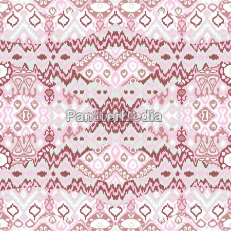 ethnic bohemian arabesque pattern zigzag geometric