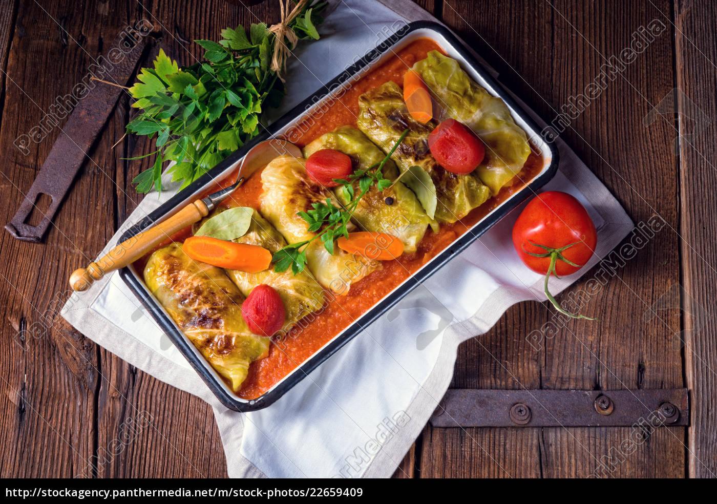 golabki, -, polish, cabbage, rolls, in - 22659409