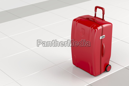 red, travel, bag - 22659443