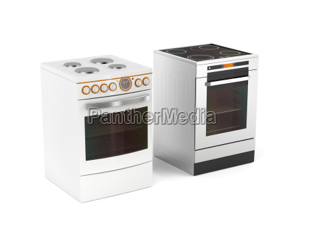 two, electric, stoves - 22659447