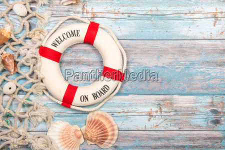 nautica, background, with, safety, buoy, with - 22664373