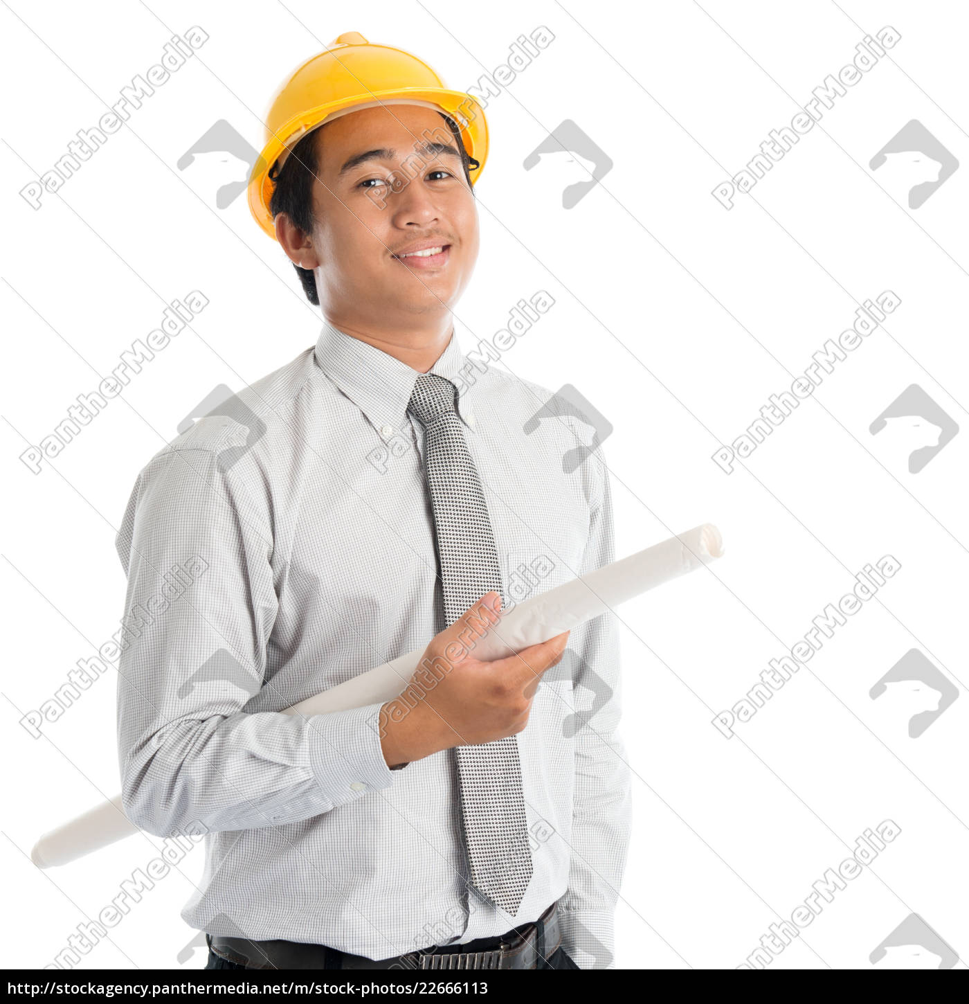 asian, man, with, safety, hardhat - 22666113