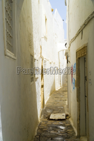 in the alleys of the medina