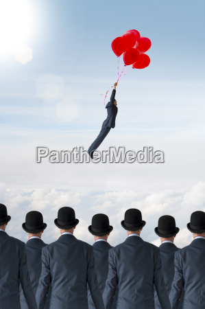 business individuality concept