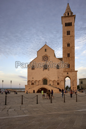 the cathedral of trani apulia italy