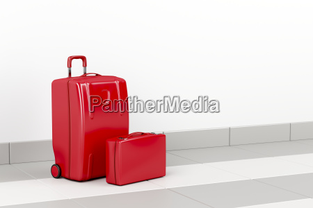 red, travel, bags - 22685783