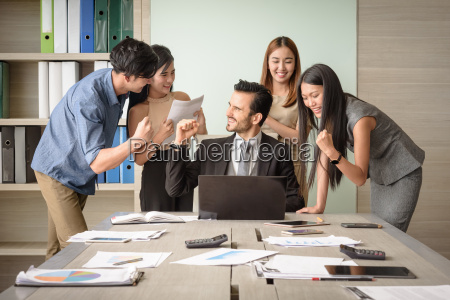business, people, happy, after, signing, agreement, - 22694993
