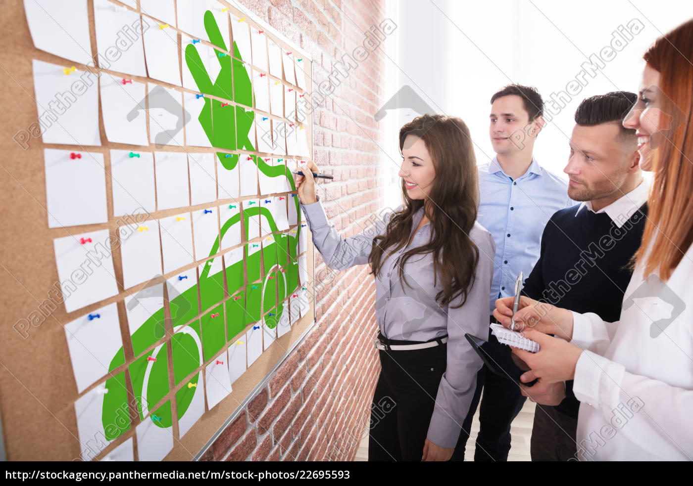 business, people, planning, eco, car - 22695593