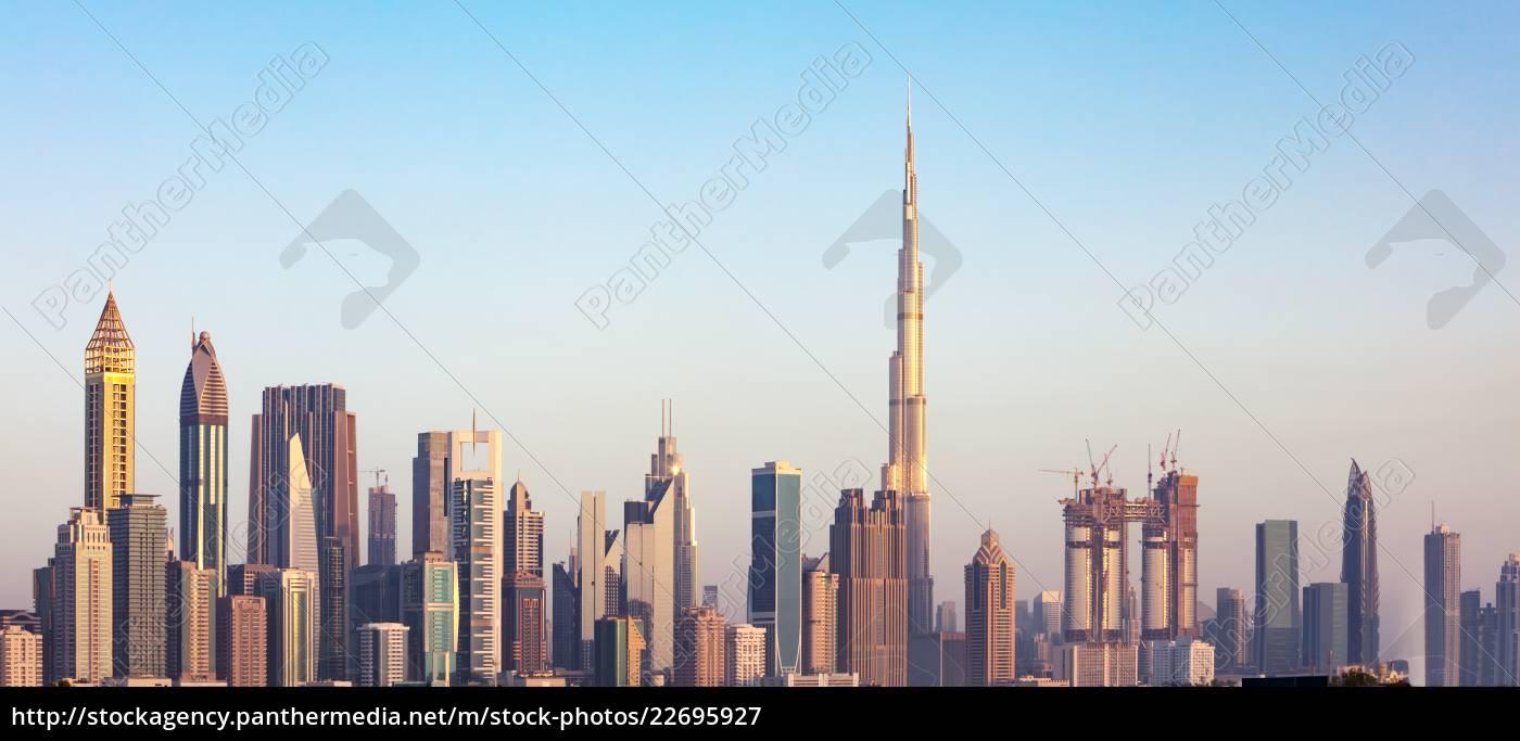 dubai, skyline, , uae - 22695927